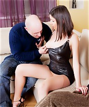 Decent married couple exploring the pleasures of rude and dirty cuckold sex
