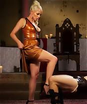 Divine Goddess Lorelei Lee fucks and uses slave cock!