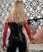 Mistress Lilse - Double Anal Dildo